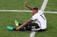 Boateng laat training Duitsland schieten