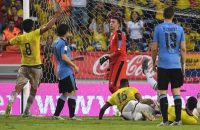 Colombia voorkomt vlak voor tijd zege Uruguay