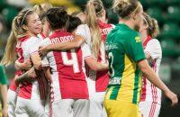 vrouwenvoetbal eredivisie ajax ado den haag