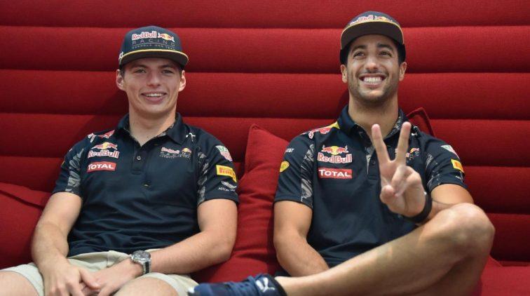 Verstappen en Ricciardo gaan de strijd aan op Instagram