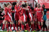 Voetbalsters FC Twente door in Champions League