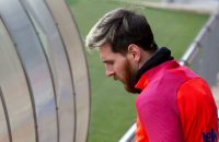 Leo Messi during the FC Barcelona's training session before the match agasint Real Sociedad on November 26, 2016, in FC Barcelona's Sport Center (Photo by Miquel Llop/NurPhoto via Getty Images)