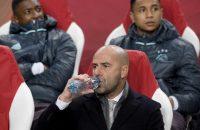 Peter Bosz geniet van Ajax
