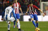 Atlético in eigen huis niet langs Espanyol