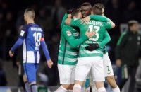 Hertha verliest aansluiting met top na verlies tegen Werder