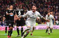 Sergio Ramos redt Real opnieuw in blessuretijd