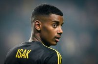 2016-11-06 00:00:00 Picture taken on November 6, 2016 shows Swedish football player Alexander Isak of AIK during a Swedish soccer league match between AIK and Kalmar FF at Friends Arena in Stockholm.Swedish football prodigy Alexander Isak -- dubbed the next Zlatan Ibrahimovic -- is on the verge of signing with German first division Bundesliga club Borussia Dortmund, snubbing an offer from Real Madrid, Swedish daily Aftonbladet reported on January 21, 2017. / AFP PHOTO / TT News Agency / Anders WIKLUND / Sweden OUT