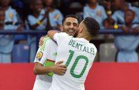 Mahrez voorkomt blamage topfavoriet Algerije