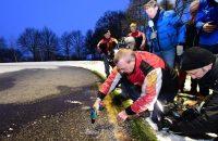 Nog geen marathon op natuurijs in Haaksbergen