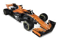 2017-02-20 16:25:58 epa05812318 A handout photo made available by McLaren Honda team on 24 February 2017 of the MCL32 McLaren Honda Formula One racing car.  EPA/STEVEN TEE/HANDOUT  HANDOUT EDITORIAL USE ONLY/NO SALES