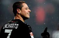 Leverkusen vertrouwt op vorm Chicarito: 'Hij is sensationeel'