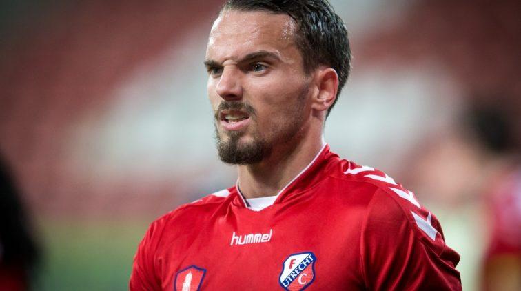 Rodney Sneijder levert contract in bij FC Utrecht