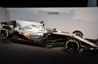 The new Force India VJM10 at Force India VJM10 Launch, Silverstone, England, 22 February 2017. FORMULE 1 : Presentation Force India VJM10 - Silverstone - 22/02/2017 © PanoramiC / PHOTO NEWS PICTURES NOT INCLUDED IN THE CONTRACTS  ! only BELGIUM !