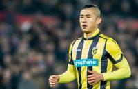 Chinese aanvaller Zhang Yuning langer bij Vitesse