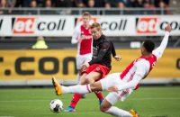 Feyenoorder Toornstra bedankt Van Duinen voor goal tegen Ajax