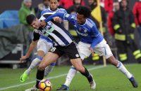 Juventus profiteert niet optimaal van nederlaag Roma