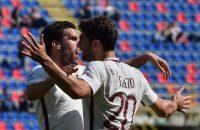 AS Roma en Strootman blijven Juventus volgen op zes punten