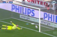 Arbitrage merkt zuivere goal Willem II niet op, PSV komt goed weg