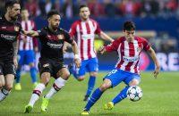 Atlético mist Gameiro tegen Leicester, maar heeft Gaitán terug