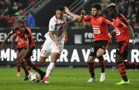 El Ghazi en Kishna verliezen met Lille bij Stade Rennes