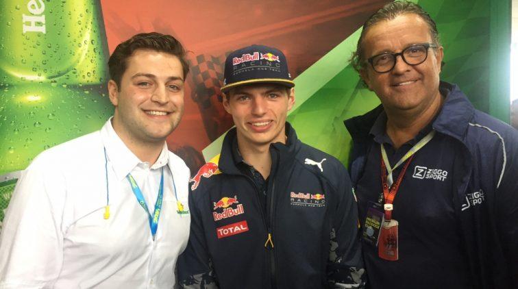 Jaloersmakend: Plooij senior én Plooij junior reizen mee met het F1-circus