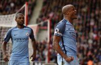 Manchester City klimt met zege op Southampton naar derde plaats