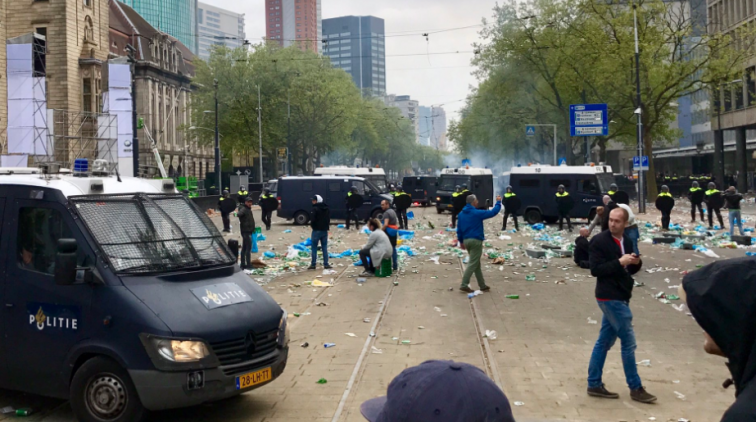 schoon postorderbruid hardcore in Rotterdam