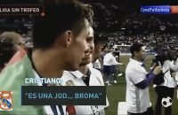 Cristiano-Ronaldo-Funny-Reaction-when-he-Found-out-they-dont-receive-La-Liga-2017-trophy