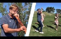 Klopp-in-Sydney-Jürgen-tries-dancing-the-didgeridoo-and-throwing-a-boomerang
