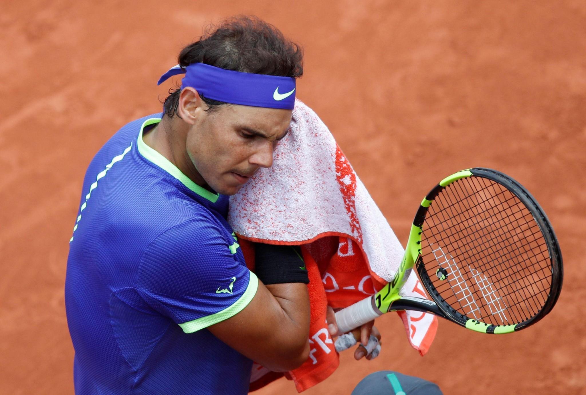 Roland Garros Handdoek.Nadal Boos Op Umpire Je Zal Nooit Meer Umpire Van Me Zijn