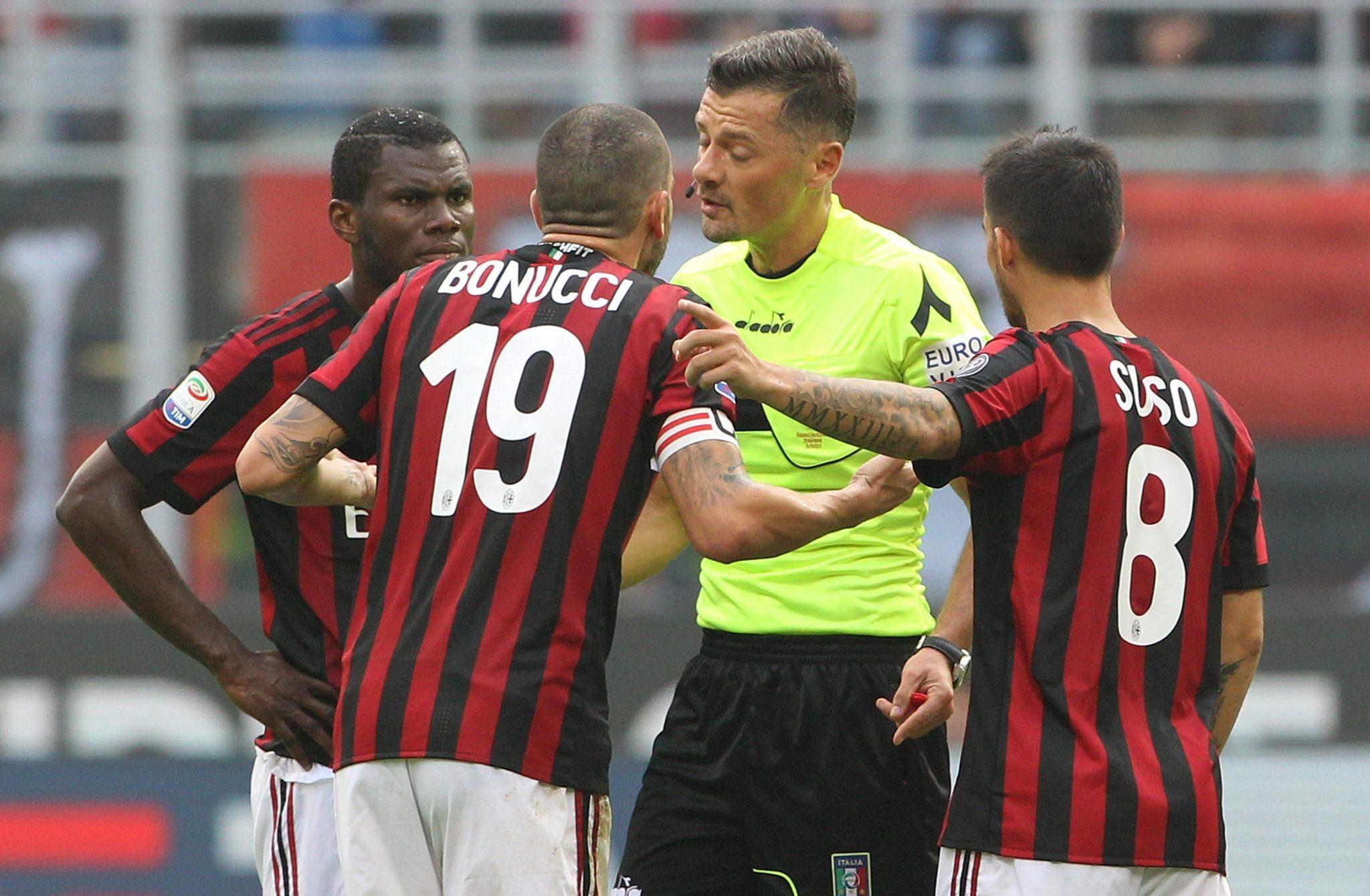 Montella moet vrezen voor baan bij AC Milan na nieuw ...