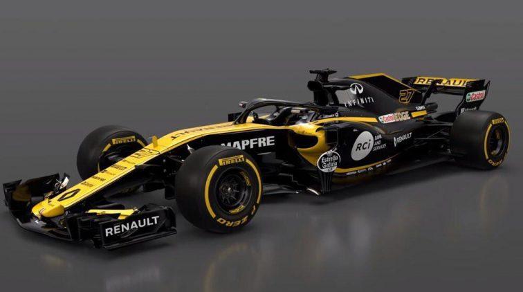Ook Renault Gooit Nieuwe F1 Auto De Wereld In Video Sportnieuws
