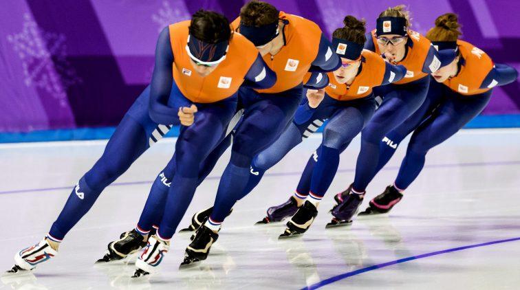 Dit is het programma van de schaatsers op de winterspelen ...