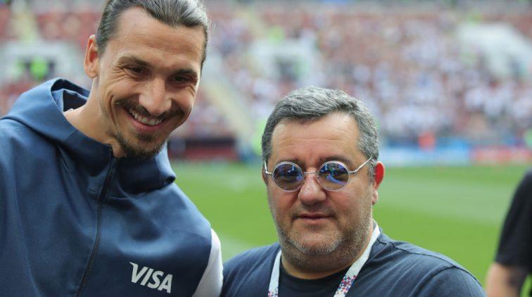 Mino Raiola had een gesprek met AC Milan over Zlatan