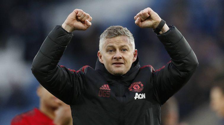 Trainer Von Manchester United