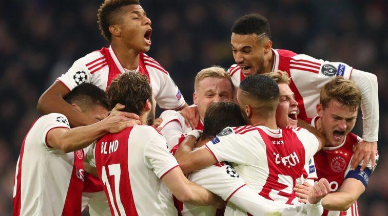 Ajax Juventus Twitter
