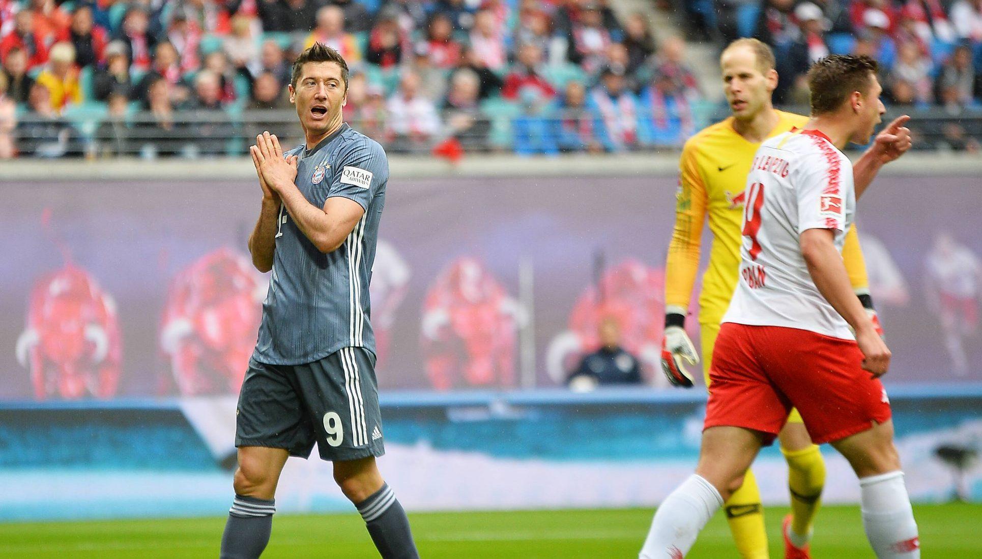 Bayern München nog geen kampioen na gelijkspel bij Leipzig ...