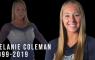 Turnster Melanie Coleman overleden tijdens oefening