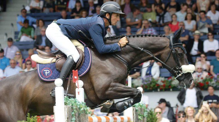 Steve Guerdat op zijn nederlandse paard alamo