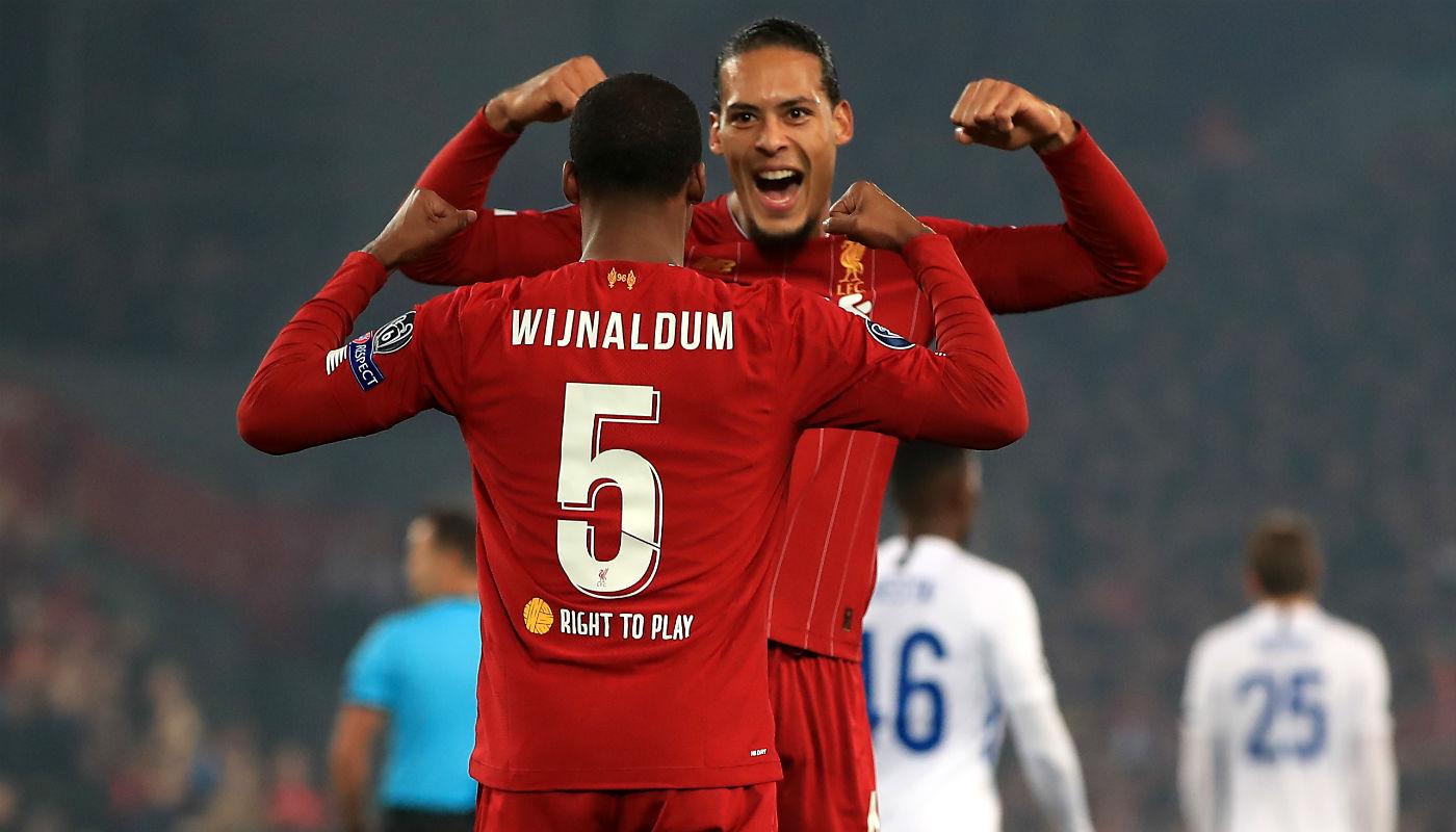 🎥 | Gini scoort! Wijnaldum zet Liverpool met deze goal op voorsprong in de CL - Sportnieuws.nl