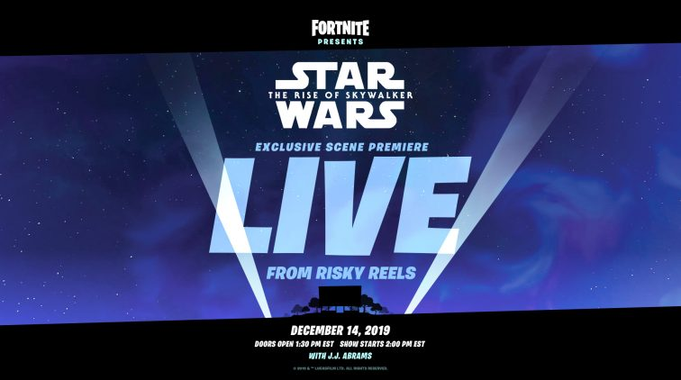Fortnite Star Wars event