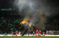 Vuurwerk Sporting - Benfica