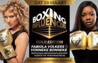 Boxing Influencers Fabiola Vonneke