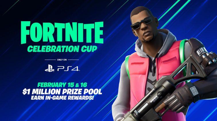 Fortnite PS4 Celebration Cup