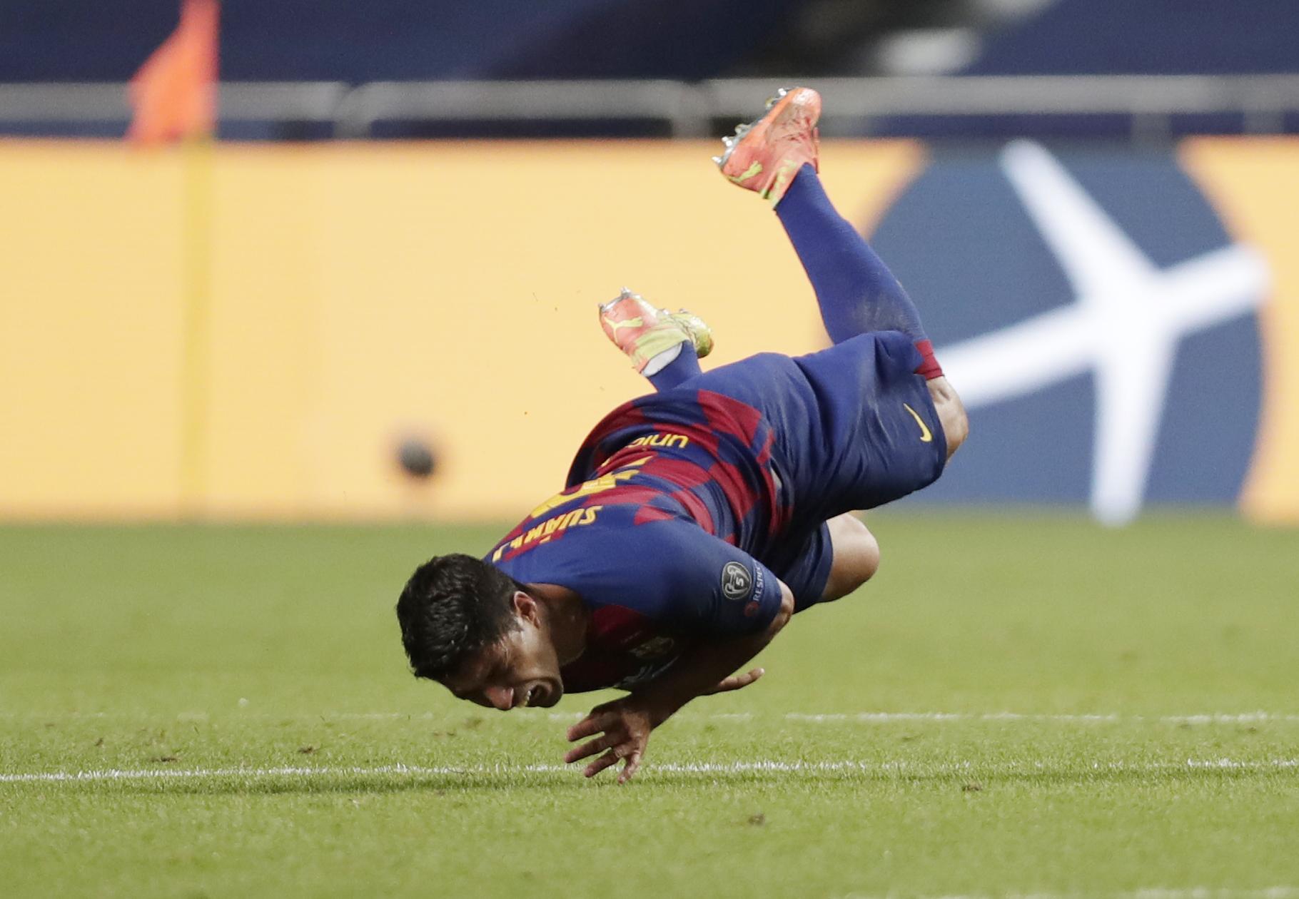 Luis Suarez Barcelona Bayern münchen