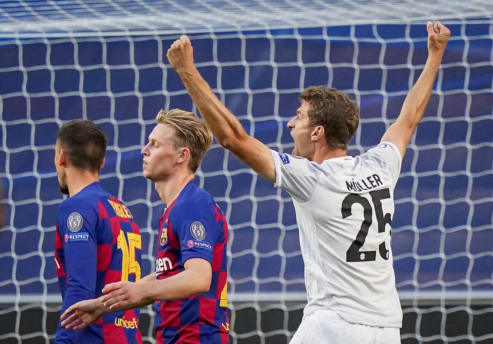Thomas Müller Bayern Barcelona
