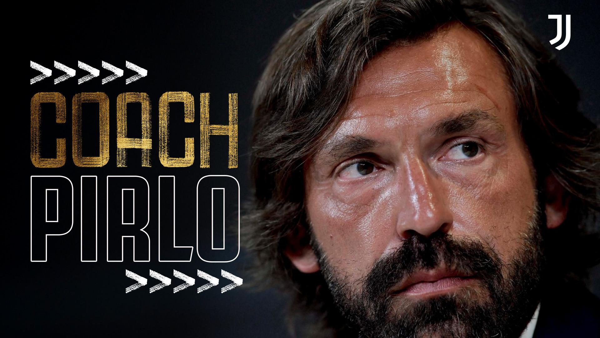 Juventus Andrea Pirlo trainer | Sportnieuws