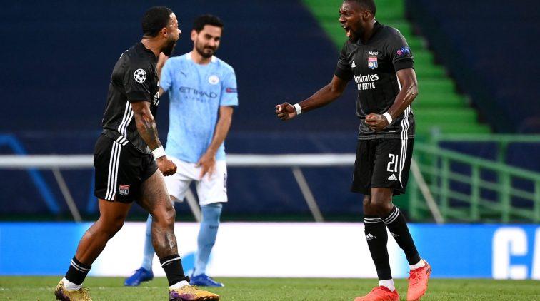 Olympique Lyon Manchester City Champions League