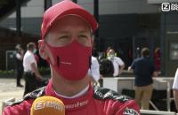 Sebastian Vettel interview Silverstone