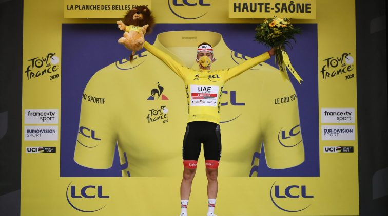 Top 10 Tour de France uitslag